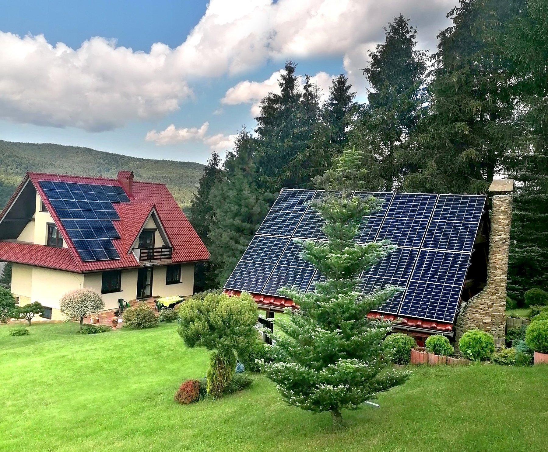 instalacja fotowoltaiczna solaredge z pełną optymalizacją Polska Energia Andrychów