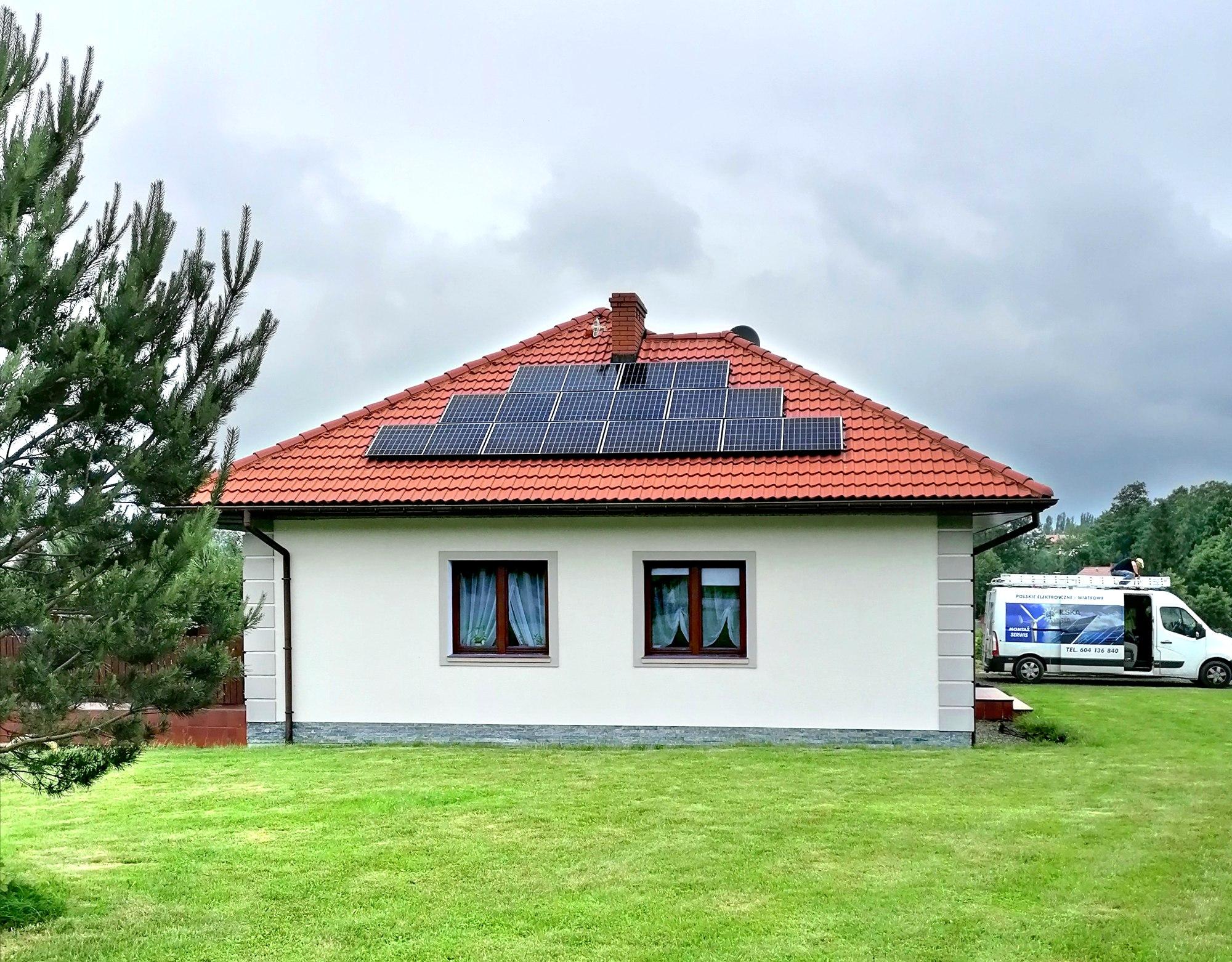 małe instalacje fotowoltaiczne 3kW Polska Energia fotowoltaika Andrychów