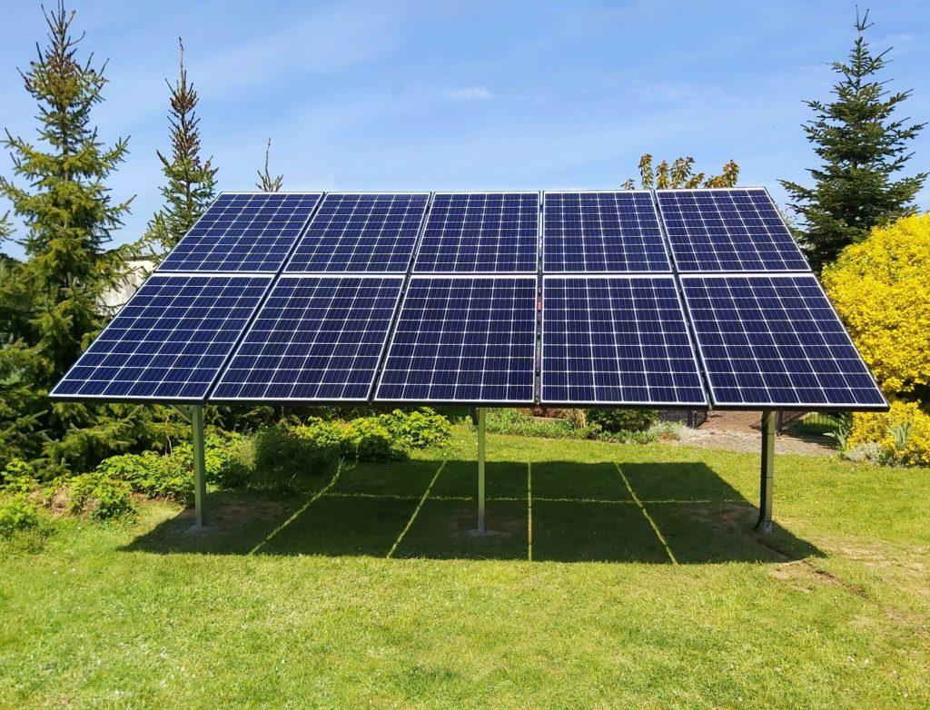 Instalacja gruntowa fotowoltaika Polska Energia Andrychów