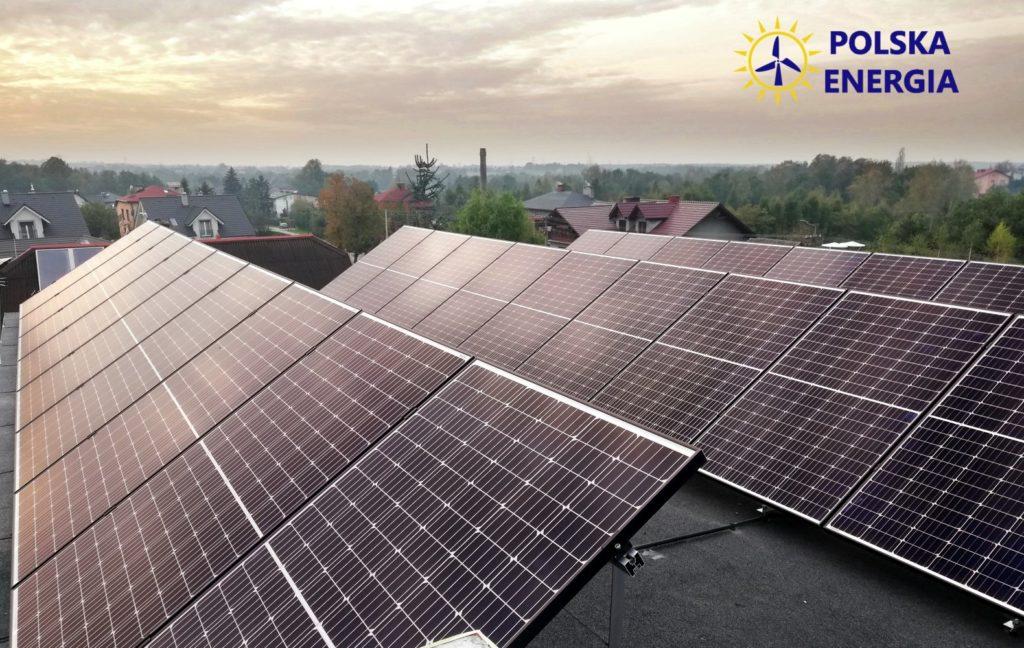 instalacja fotowoltaiczna montaż Polska Energia Andrychów, Kozy 10KTL