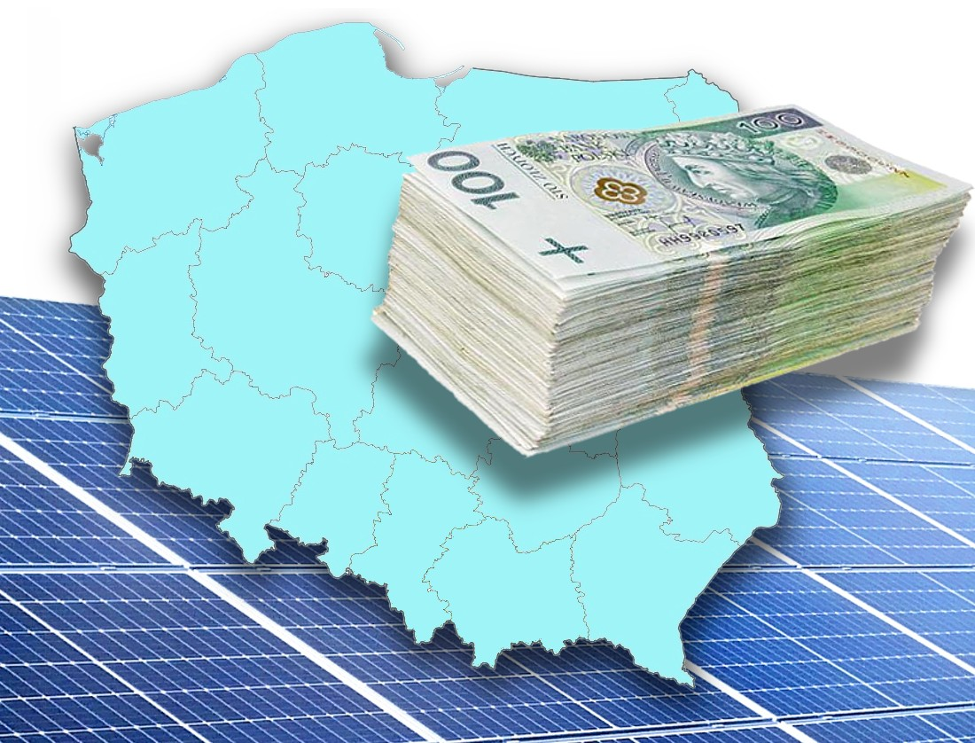 Fotowoltaika Andrychów Polska Energia dotacje gminne w Polsce
