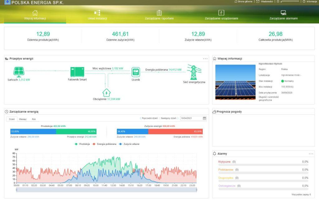 aplikacja huawei Polska Energia Andrychów