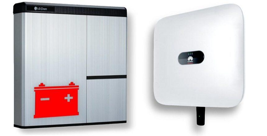 magazyny energii LG Huawei
